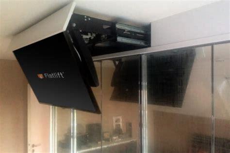 schublade elektrisch ausfahren tv decke ausschwenken