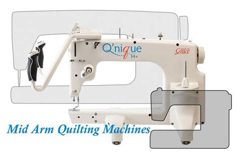 mid arm quilting machines for home use