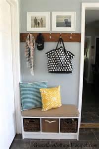 Entryway Bench And Shelf Set Organizing The Entry Way Ahrn Com