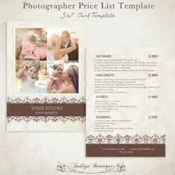 Wedding Photographer Price List Template Photographer Price List Photography Package By Indigoboutique