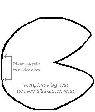 fortune cookie card template 8 best images of printable fortune cookie template blank