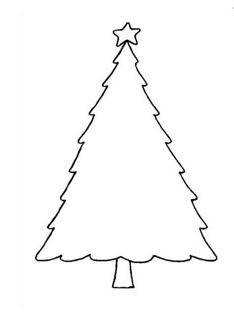 christmas crafts print your christmas tree template