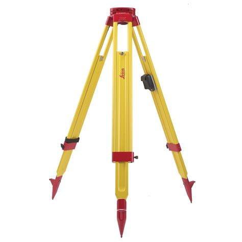 Tripod Leica Leica Gst20 Wooden Tripod One Point Survey Equipment