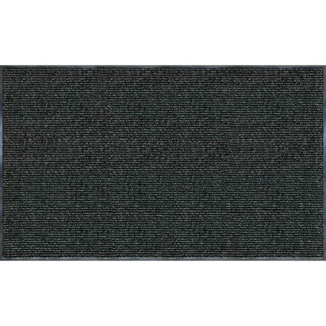 trafficmaster enviroback charcoal 60 in x 36 in recycled