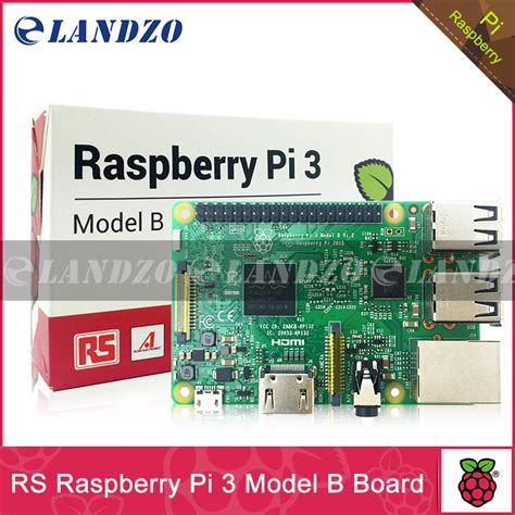 rs version made in uk original raspberry pi 3 model b 1gb lpddr2 bcm2837 ras pi3 b