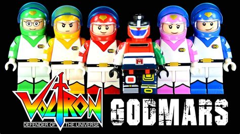 Lego Godmars Minifigure voltron defender of the universe command team plus godmars chogokin unofficial lego
