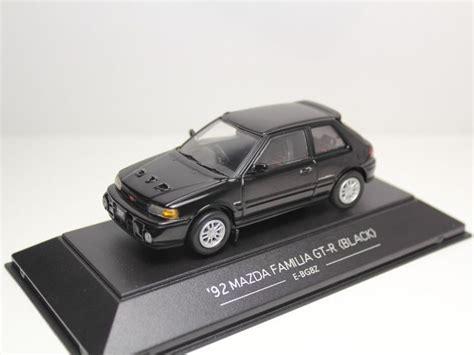Sapi Model Mazda Familia sapi models mazda familia gt r 1992 black e bg8z 323 1 43
