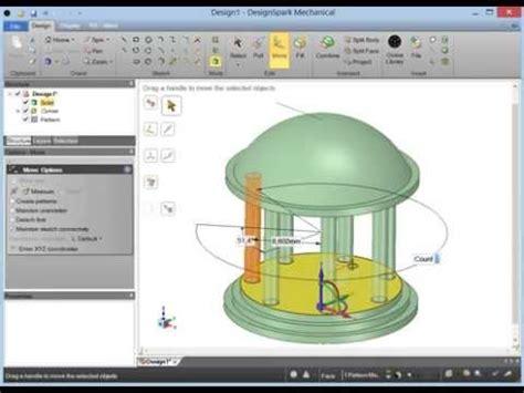 designspark tutorial design spark mechanical i der start i tutorial 2 i der