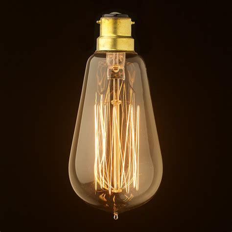 edison globe light bulbs vintage edison squirrel cage teardrop filament b22
