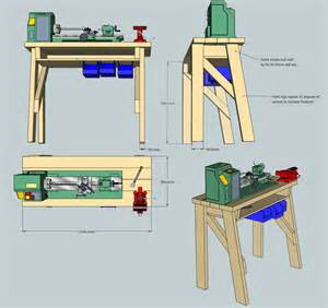 diy wood lathe stands pdf expedit bookcase plans