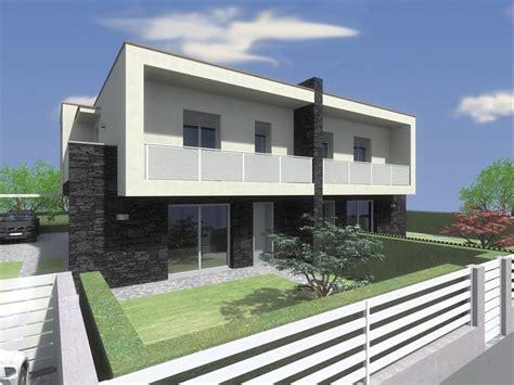 Progetto Casa Bifamiliare by Progetto Villa Bifamiliare Diego Trevelin