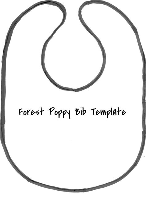 baby bib templates best photos of baby bib cut out template baby bib card