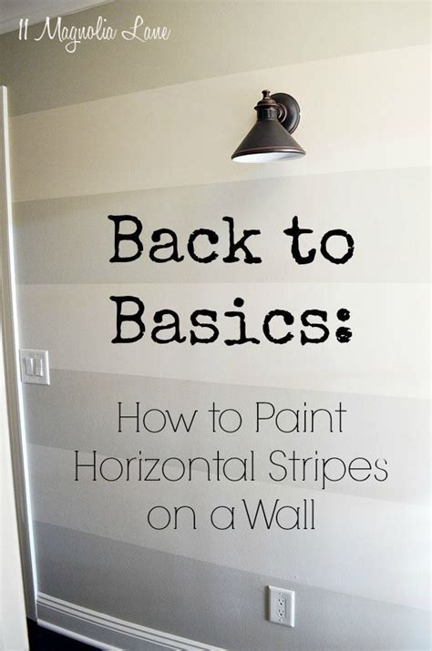 how to paint horizontal stripes on a bedroom wall best 20 painting horizontal stripes ideas on pinterest