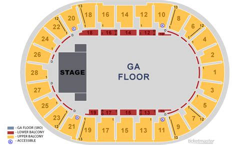 decc amsoil arena seating chart seating charts duluth entertainment convention center