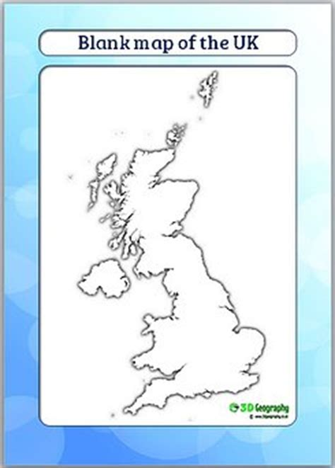 map uk ks1 country outline maps