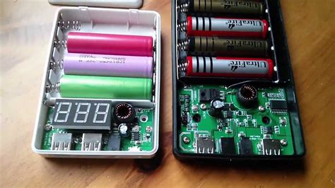Powerbank Modul Aili Isi 6 review 4 cell 6 cell 18650 usb mobile power banks 1