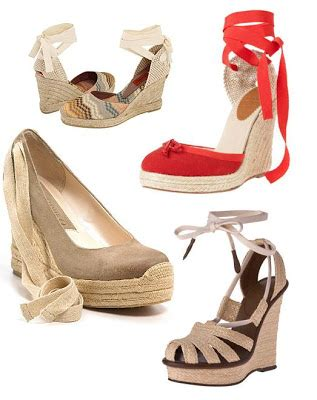 Missoni Macartney Coloured Wedges by Lost Treasures Currant Obsession Espadrille Wedges