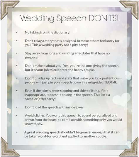 Wedding Speech by How To Give A Wedding Speech Pointers For Planners