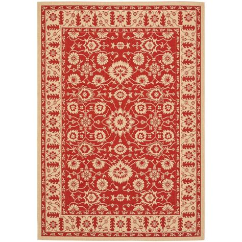 4 X 5 Area Rugs Safavieh Courtyard 4 Ft X 5 Ft 7 In Indoor Outdoor Area Rug Cy6126 28 4 The Home