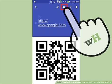 qr code android how to create qr codes with an android phone 14 steps