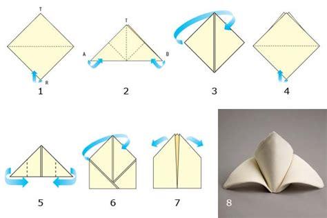 Origami Con I Tovaglioli by Zuppa Ricetta Decorazioni Tovaglioli Carta