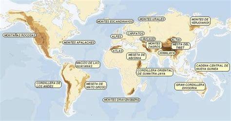 cadenas montañosas de america del sur geografia mundial sistema monta 241 oso