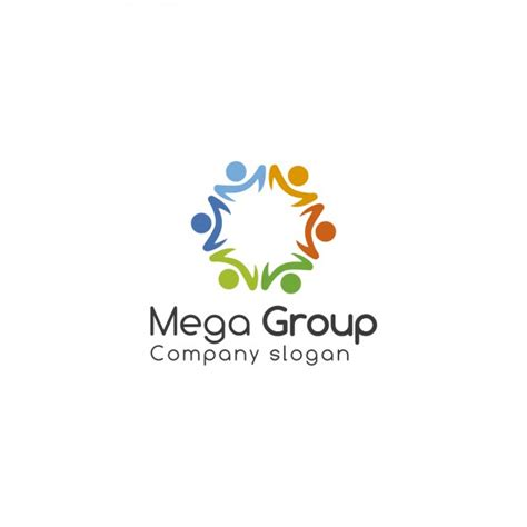 design a group logo group logo template vector free download
