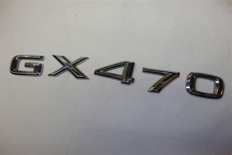 Emblem Gx buy lexus gx470 chrome emblem oem motorcycle in shavertown