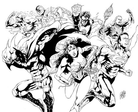 coloring pages of justice league justice league printable coloring pages