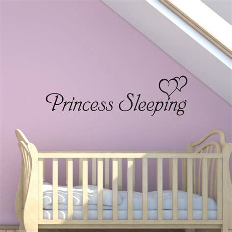Princess Wall Decals For Nursery Our Princess Wall Decal Princess Wall Decals For Nursery