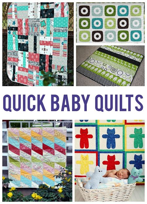 How To Make Baby Quilts Easy by 10 Easy Baby Quilt Patterns That Stitch Up