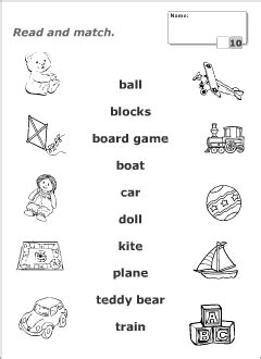 boat made of skins crossword fair english worksheets toys also toys vocabulary for kids