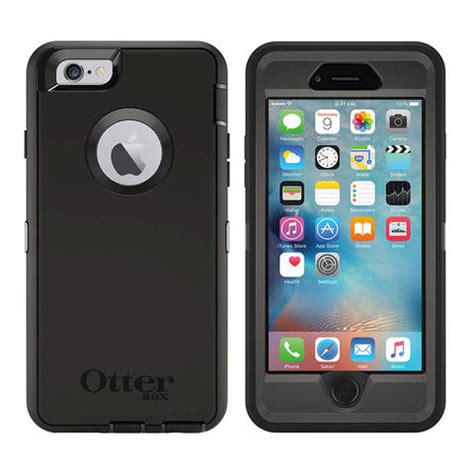 Promo Otterbox Defender Series Iphone 6 6s Indigo Harbor otterbox defender carrying holster for iphone 6s iphone 6 indigo harbor by office depot