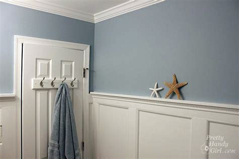 from fishy to beachy the boys bathroom reveal pretty handy