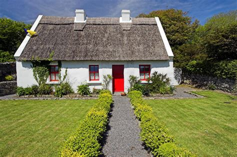 How To Build A Cottage Roof by Thatch Roof Cottage Ireland By Leclerc Photography