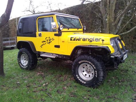 Jeep 2 5 L Troc Echange Jeep Wrangler Yj 2 5l 4 Places Sur