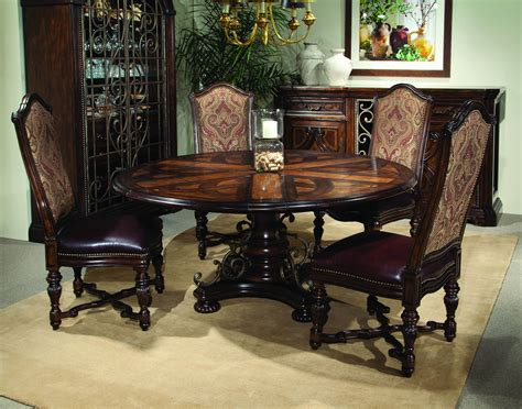 valencia extendable round dining table valencia extendable round dining set