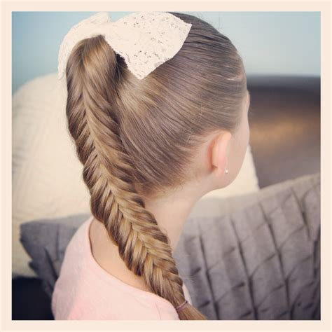 fishtail braids cute girls hairstyles page 2