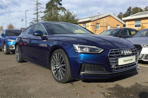Used Audi A5 S Line by Used 2017 Audi A5 2 0 Tfsi Quattro S Line 5dr S Tronic For