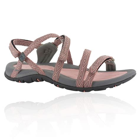 shoes sandals hi tec santorini womens pink walking hiking sandals
