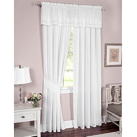 danielle eyelet curtains danielle embroidered eyelet window curtain panel and
