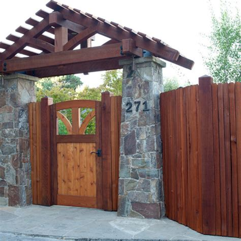 various wooden gate designs for your home freshouz