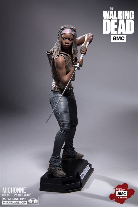 figure 7 inch mcfarlane the walking dead 7 inch scale michonne the