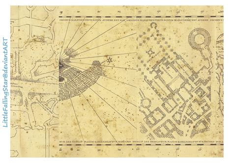 Marauders Map Page 3 By Littlefallingstar On Deviantart Marauders Map Template
