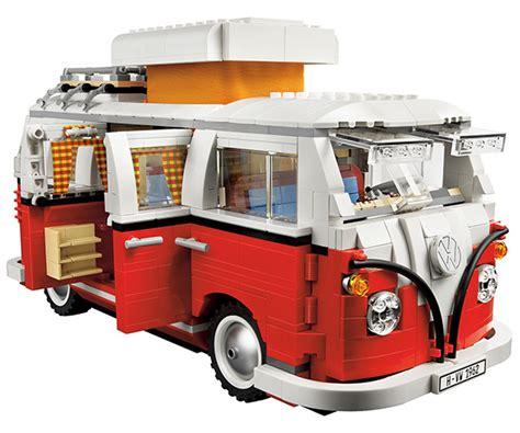 Campervan Design Curtains by Lego Volkswagen T1 Camper Van 10220