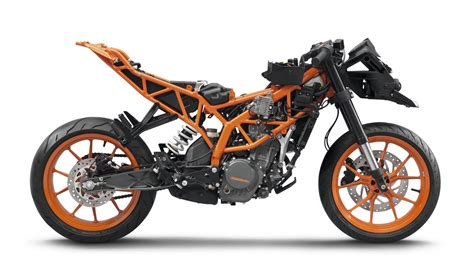 Ktm Rc Finally There And Ready To Test The All New Ktm Rc 125