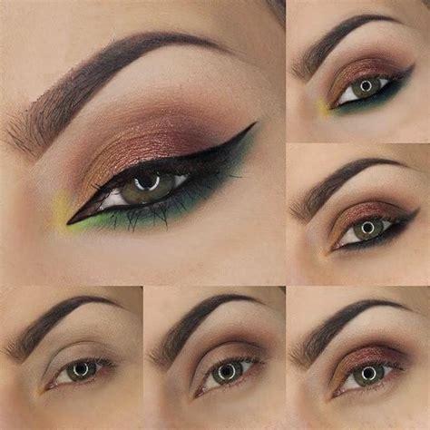 imagenes ojos verdes maquillados tutorial de maquillajes para lucir tu mirada mujer chic