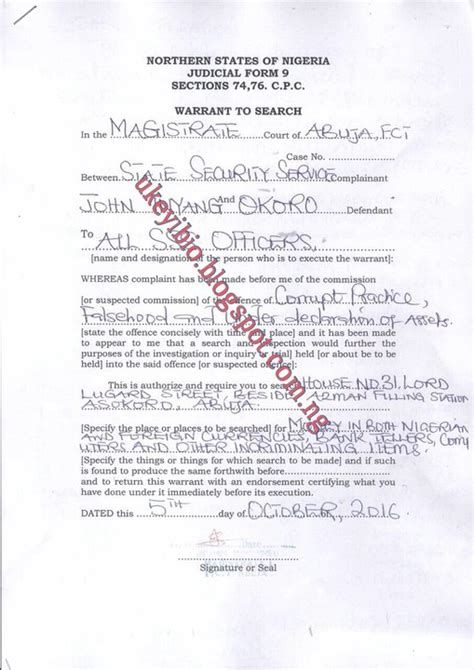 Who Issues Search Warrants Exclusive Arrest Warrant Issued To Sss To Search And