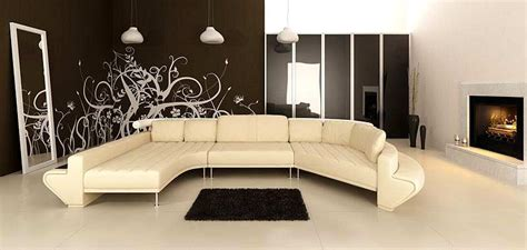Moderne Wohnzimmer Sets enjoy leather sectional modern sofa sectionals