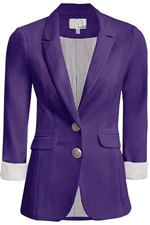 Boyfriend Purple purple boyfriend blazer clothes